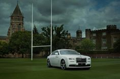 Rolls-Royce unveils Rugby-themed bespoke model #thatdope #sneakers #luxury #dope #fashion #trending