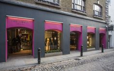 The Ted Baker store in Covent Garden London.