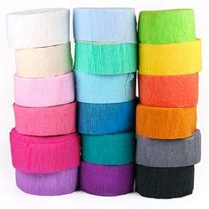 Crepe Paper Easter Egg Dye Recipe