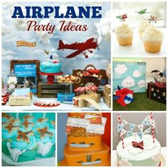 Summer Parties, Airplane Parties and Movie Night Ideas