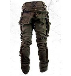 Addiction: PT Breakers a little too much . Addiction: PT Breakers a little too much … Pants ridiculously amazing! Mode Steampunk, Style Steampunk, Steampunk Fashion, Steampunk Pants, Apocalypse Fashion, Post Apocalypse, Post Apocalyptic Fashion, Apocalyptic Clothing, Kleidung Design