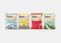 Propercorn — The Dieline - Branding & Packaging