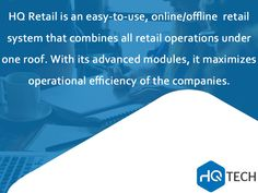 What is #HQ #Retail Services?