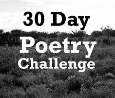 30/30 Poetry Challenge - Brady Gidge
