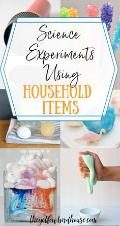 17 of the very best science experiments for kids using household items. Make learning fun and keep the kiddos occupied w Kid Experiments At Home, Kids Activities At Home, Science Experiments For Preschoolers, Cool Science Experiments, Science For Kids, Science Projects, Fun Activities, Science Daily, Science Space