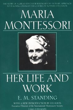 A Montessori approach to discipline consists of a proper balance between freedom and discipline. Like any part of Montessori education, it requires respect for the child. I'd like to share some Montessori articles that give more insight into Maria Montessori, Montessori Books, Montessori Education, Primary Education, Montessori Quotes, Montessori Infant, Homeschool Books, Montessori Preschool, Montessori Theory