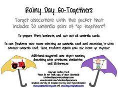 Rainy Day Go-Togethers $2.50