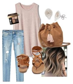 """""""Untitled #6"""" by kristindeville on Polyvore featuring Gap, True Religion, Breckelle's, UGG and Bobbi Brown Cosmetics"""