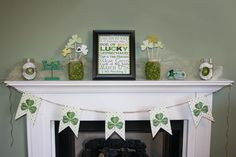 Cute decor for St Patricks day