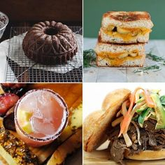 Dill Pickled Grilled Cheese Sandwich & Chocolate Coffee Bundt Cake — Delicious Links