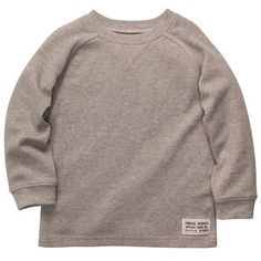 Long-Sleeve Thermal...i could make this...i wonder if it would be as cheap though?