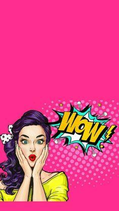 Pop art design people 50 Ideas for 2019 Bd Pop Art, Pop Art Girl, Image Girly, Cute Wallpapers, Wallpaper Backgrounds, Pop Art Women, Pop Art Illustration, Art Graphique, Pin Up Girls
