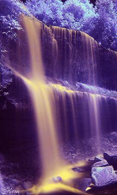Красочный водопад - анимация на телефон №1266606