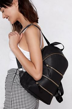 WANT Three Times the Charm Zip Backpack