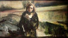 «German Girl» framstiller et anonymt, sivilt offer for ondskapen. FOTO: GALLERI FINE ART. KUNST. Vebjørn Sand. «