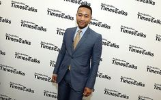 John Legend attends a TimesTalks event to discuss his upcoming HBO documentary, Southern Rites, on May 7 in New York