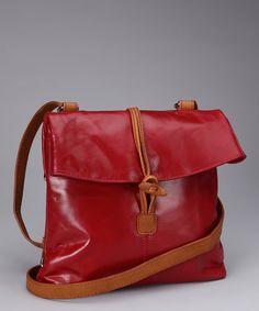 Nino Bossi #Red Convertible Crossbody Bag #zulily