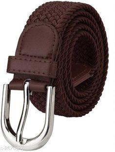 Belts Stylish Men's Belt Material: Canvas Size: Free Size Description: It Has 1 Piece Of  Unisex Belt Pattern: Solid Sizes Available: Free Size   Catalog Rating: ★3.9 (2312)  Catalog Name: Essential Stylish Men's Belts Vol 1 CatalogID_361138 C65-SC1222 Code: 531-2670827-