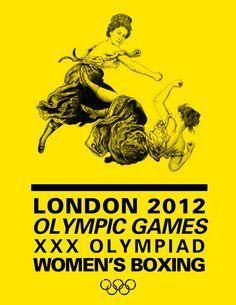 London Olympics 2012 by Jenelle Dagres, via Behance