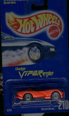 Hot Wheels Red Dodge Viper RT/10 #210 Silver Ultra Hots 1:64 Scale by Mattel. $1.49. Solid Red Car with Silver Ultra Hot (SUH) Wheels. 1:64 Scale Die-Cast Collectible Car. ALL-Blue (older-style) Card