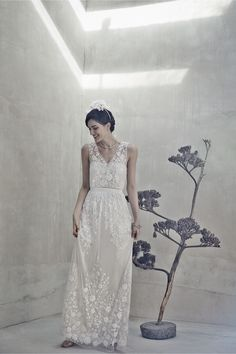@Anna Ekaterini  To my lace loving friend... this place has some pretty pieces Sian Gown in New at BHLDN