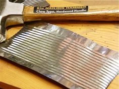 How-to: using tin cans for metal work :: Great! Something to do besides pencil holders! This is a neat frame project ...
