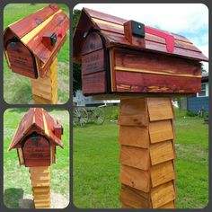 Log Cabin Mailbox Handcrafted Log Cabin Mailbox By CarvedByHeart | Carved  By Heart | Pinterest | Log Cabins, Cabin And Logs