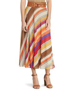 a410f8e7db Serape Georgette Maxiskirt - Lauren Maxi - RalphLauren.com Modest Dresses,  Summer Dresses,