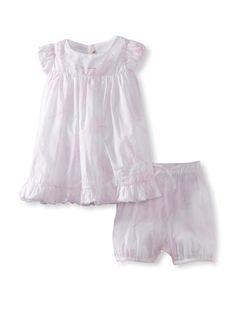 60% OFF Berlingot Baby Dress Set (Pink)