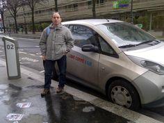 De passage à Paris, il y a aussi Autolib' près de l'hôtel.