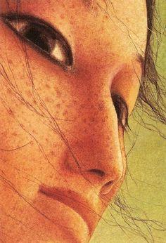 Rébecca Dautremer (b1971; Gap, South of France, Hautes Alpes)