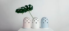 Small Fly's Eye Vases