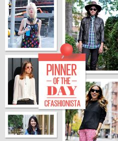 Pinterest Star Of The Day: CollegeFashionista Style