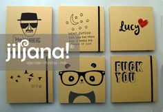 Libretas artesanales / handmade notebooks