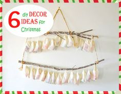 Woman in Real Life:The Art of the Everyday: 6 Diy Decor Ideas for Christmas