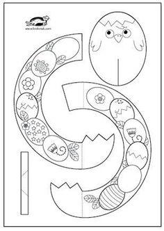Easter Wreaths + templates   krokotak
