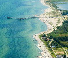 Luftaufnahme von Heiligenhafen im #Sommerurlaub