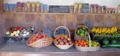 Château de Courances » vente de légumes