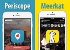 Videomaker, scoprite Periscope e Merkaat, le app che portano il video ovunque.