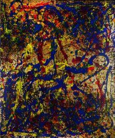 Serenade to Jackson Pollock 80 TR - F.7804