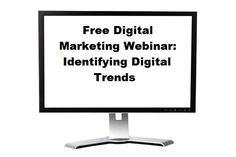 Free Digital Marketing Webinar on Identifying Digital Trends TODAY at 1PM BST