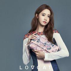 SNSD's lovely YoonA for 'LOVCAT'