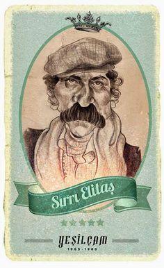 Yeşilçam Kötüleri Celebrity Caricatures, How To Create Infographics, Film Posters, Comedians, Movie Stars, Watercolor Art, Nostalgia, Cartoon, Movies