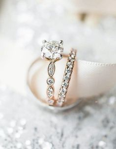 Diamond wedding band,eternity wedding ring,Solitaire vintage inspired engagement ring,solitaire engagement ring,solitaire diamond engagement ring,engagement ring,diamond engagement ring,brilliant cut engagement ring,solitaire on diamond setting engagement ring #weddingring