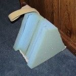 foam wedge for donning shoes - Outreach Therapy Consultants