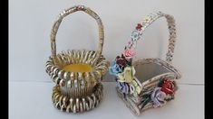 RECICLAM cutii si obtinem cosuri - WE RECYCLE boxes and get baskets Wicker Baskets, Recycling, Boxes, Vase, Youtube, Decor, Crates, Decoration, Recyle