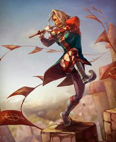Female Bard Acrobat - Pathfinder PFRPG DND D&D d20 fantasy