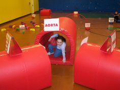 The Heart Course!!! The best thing about elementary PE besides Gymnastics