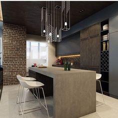 O que acham dessa mesa de concreto?  via: A Designers Mind | @decoreinteriores