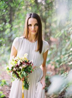Bridesmaid- Jose Villa | Fine Art Weddings» Blog Archive » Once Wed Workshop – Forest Wedding